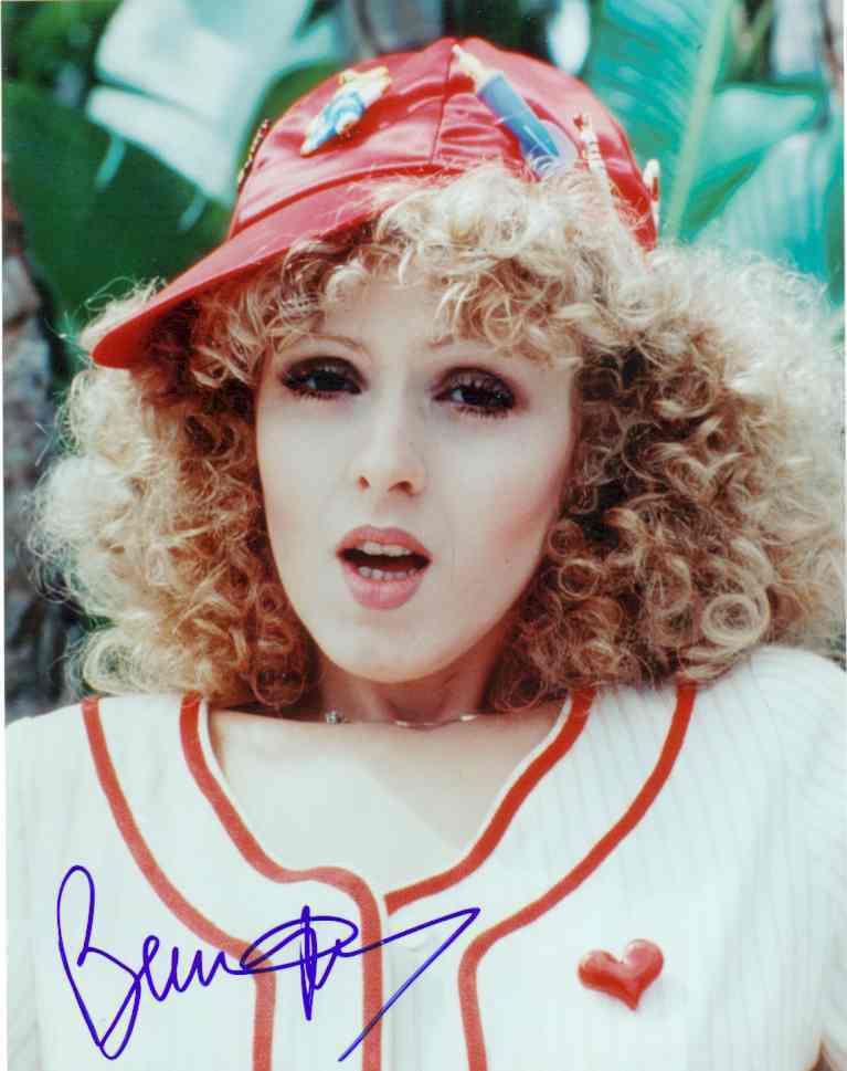 from Matthias young bernadette peters topless