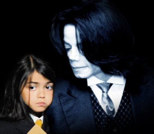 Prince Michael Jackson wallpaper with a business suit, a suit, and a three piece suit entitled Blanket And Mike
