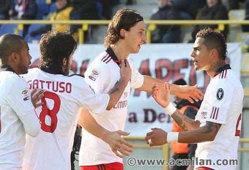Bologna-Milan 0-3, Serie A Tim 2010/2011