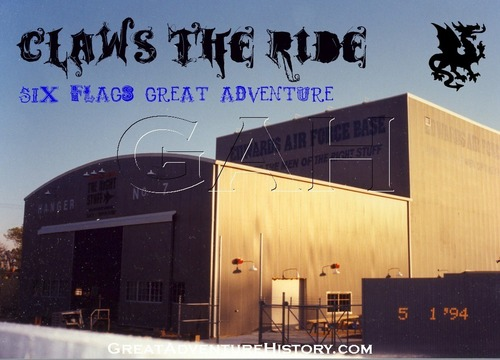 CLAWS The Ride Building