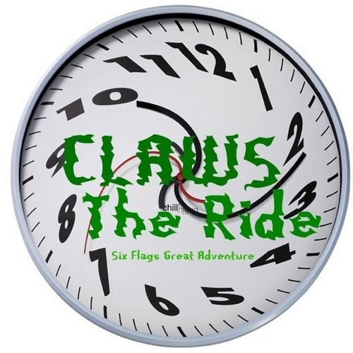 CLAWS The Ride Poster