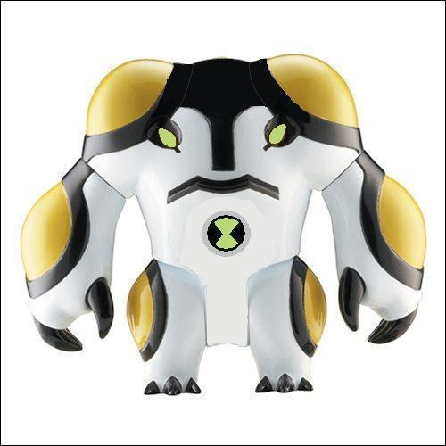 Ben 10: Ultimate Alien achtergrond possibly with a shoulder pad called Cannonbolt