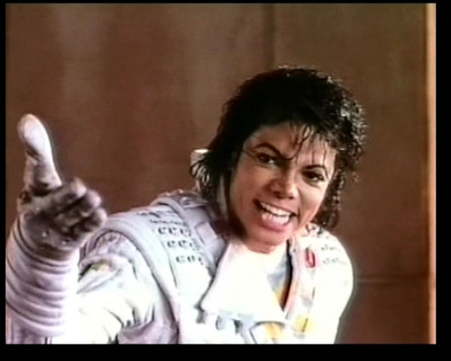 Captain Eo achtergrond with a portrait called Captain Eo