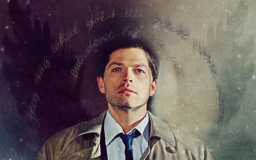 Supernatural wallpaper entitled Castiel