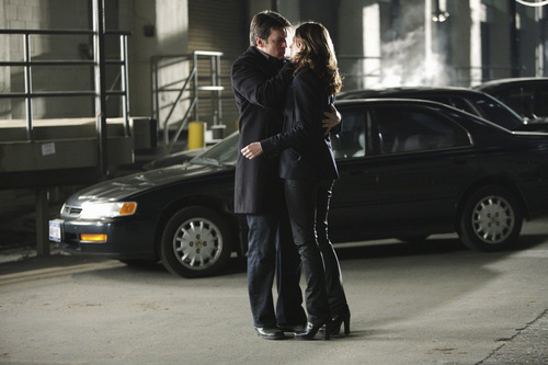 Castle & Beckett wallpaper with a business suit, a well dressed person, and a street entitled Castle & Beckett {after the kiss?}