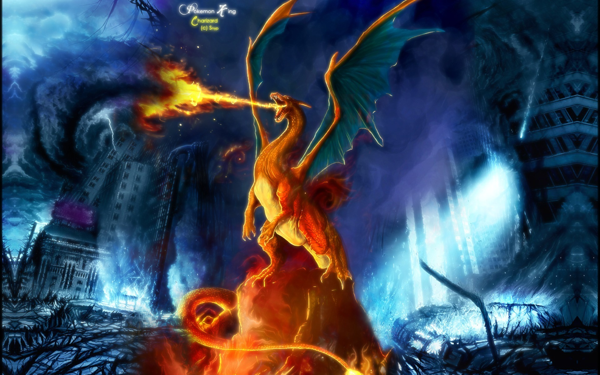 charizard charizard wallpaper 17691991 fanpop