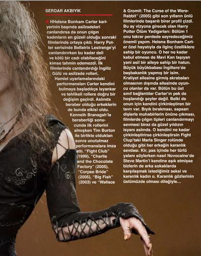 Cine Magazine December 2010(Turkey)