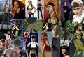 Collage of Sonya through the Years - sonya-blade fan art