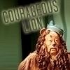Couragous Lion