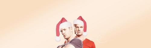 Dean & Sam xmas <3