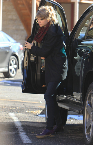 December 13 - Heading to a recording studio in Nashville, Tennessee