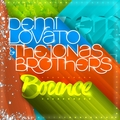 Demi Lovato & Jonas Brothers - Bounce [FanMade Single Cover] - demi-lovato-and-taylor-swift fan art
