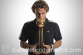 Diego Forlan and his golden ball