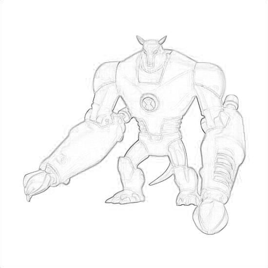 Drawing Of Armodrillo