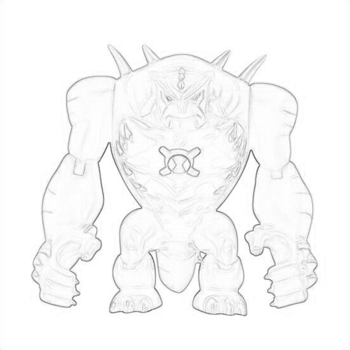 Drawing Of Utimate Humungousaur