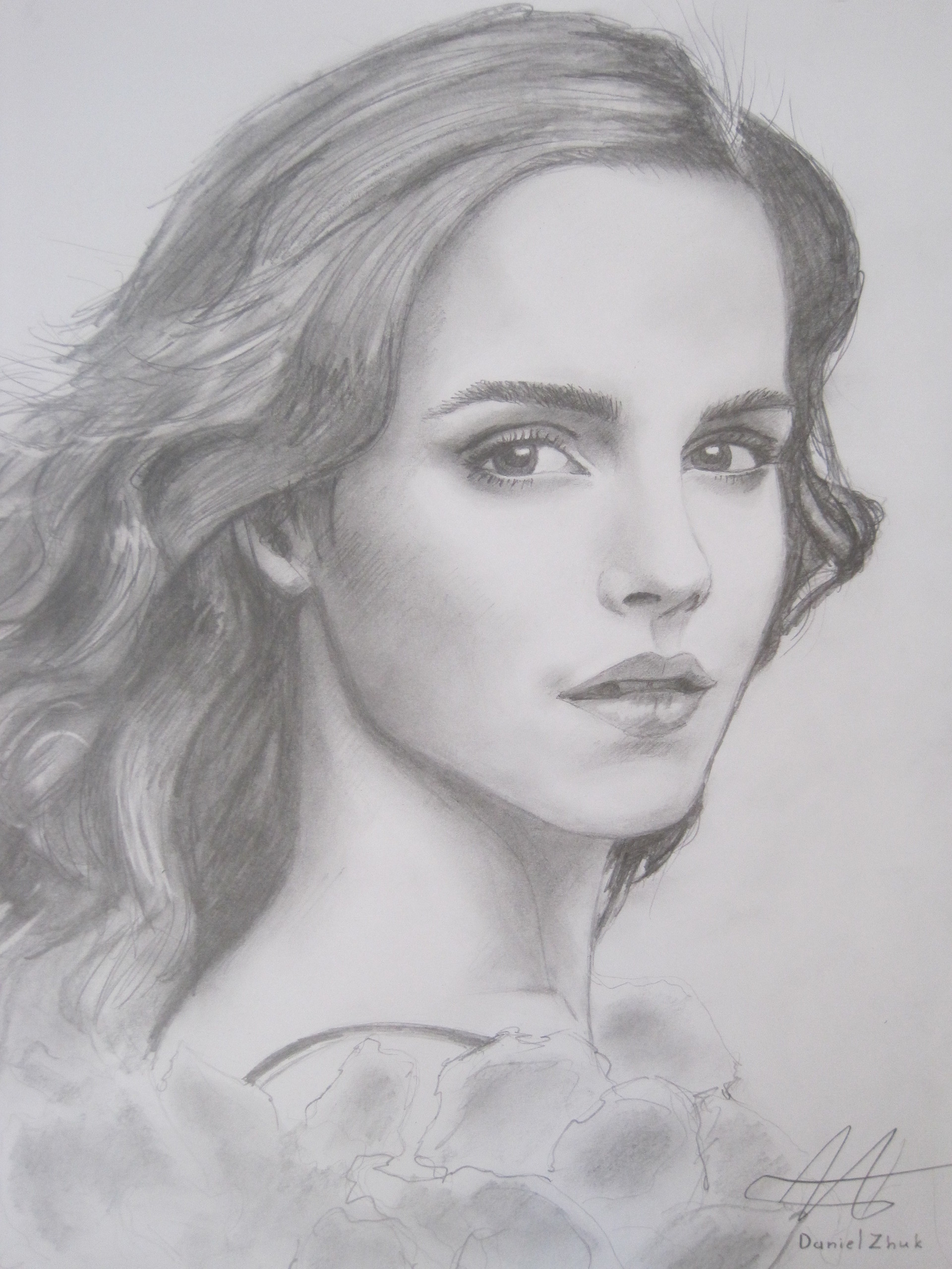 Emma Watson Images Drawing HD Wallpaper And Background