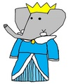 Duchess Kayte - babar-the-elephant fan art