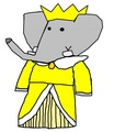 Duchess Rose - babar-the-elephant fan art