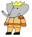 Duke Matthew - babar-the-elephant fan art