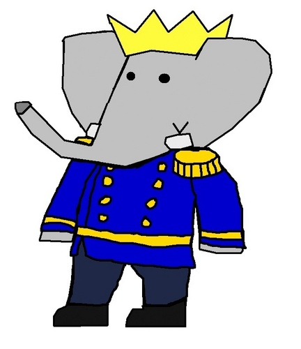 Babar the Elephant wallpaper probably containing anime titled Duke Tai