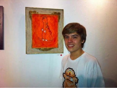 Dylan Sprouse pics at Meltdown Gallery!!