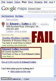 Edward Cullen fail