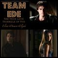 Elijah/Elena/Damon