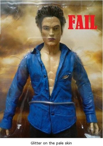 Epic Edward doll fail