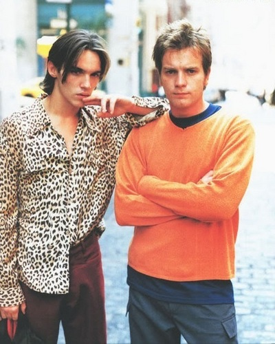 Ewan McGregor with Jonathan Rhys-Meyers
