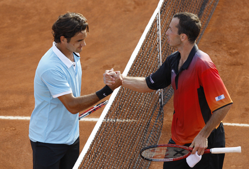 FEDERER AND STEPANEK