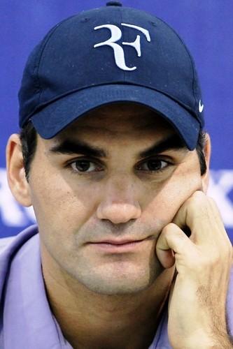 Federer face