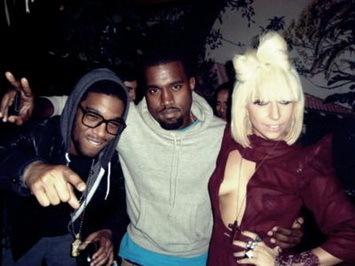 Gaga, Kanye and Kid Cudi