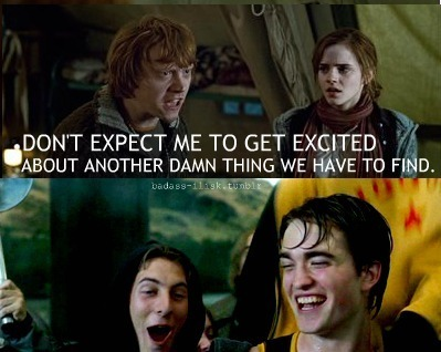 Give it to him,Ron!
