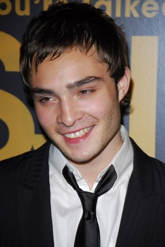 Ed at the Gossip girl 2007 premiere