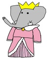 Crown Princess Flora - babar-the-elephant fan art