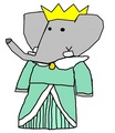 Crown Princess Isabelle - babar-the-elephant fan art
