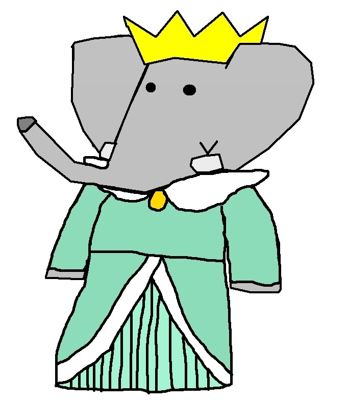 Crown Princess Isabelle Babar The Gajah Fan Art 17653109 Fanpop