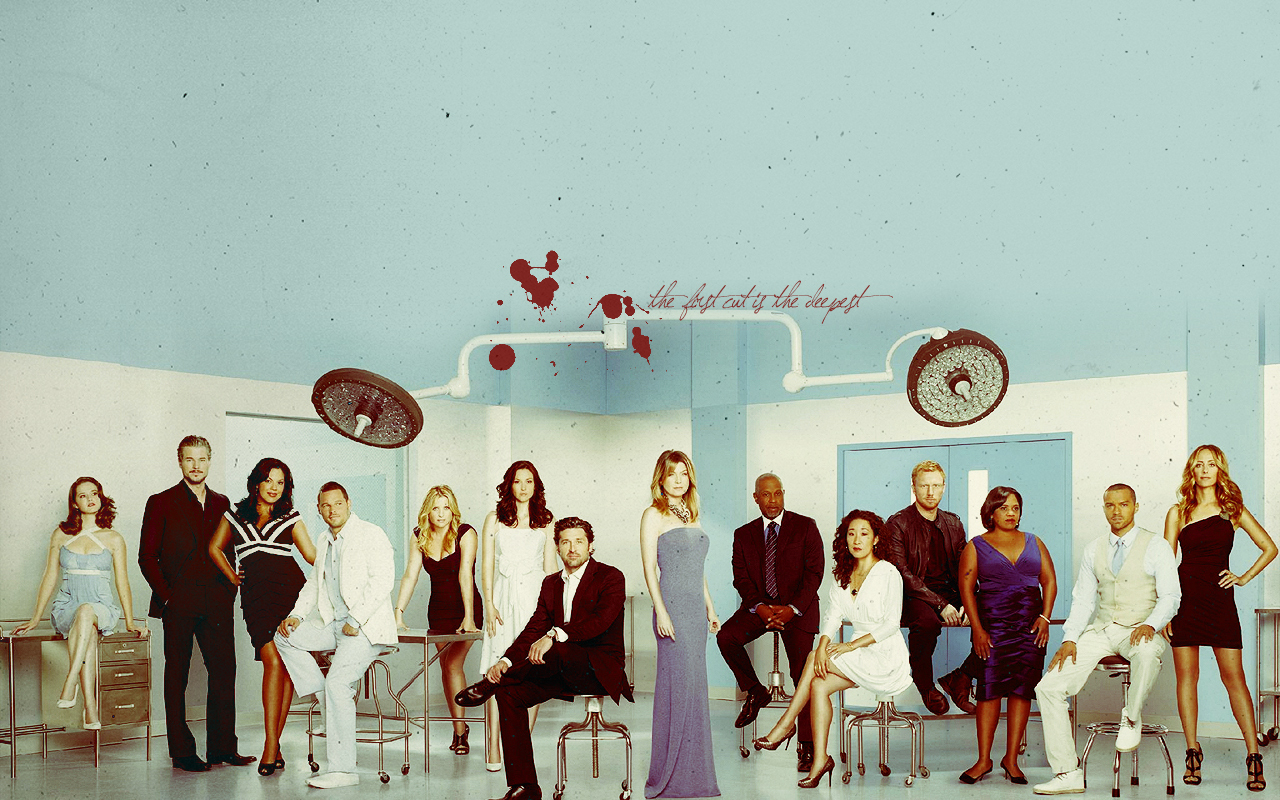 Grey's Season 7 Cast - Grey's Anatomy Wallpaper (17649971 ...