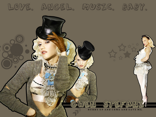 Gwen Stefani wallpaper por cassjamminx