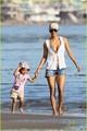 Halle Berry & Nahla Aubry: Beach Babes!