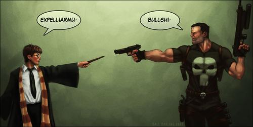 Harry vs Punisher