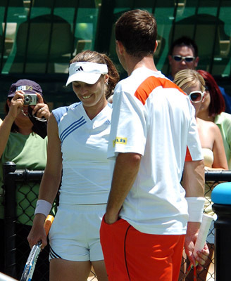 Hingis and Stepanek