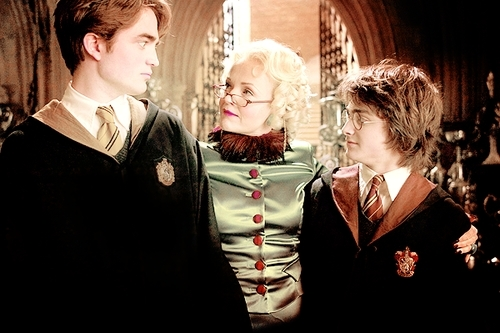 Cedric, Harry & Rita Skeeter :))