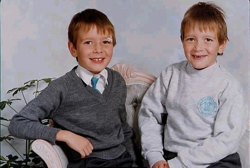 Baby James & Oliver Phelps :))
