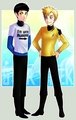I'm With Awesome - spirk fan art