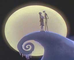 Bangungungot Bago ang Pasko wolpeyper called Jack and Sally