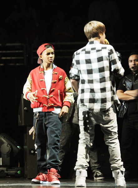 Jaden @ the Jingle Ball concierto in Madison Square Garden Dec. 10