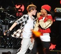 Jaden @ the Jingle Ball konsiyerto in Madison Square Garden Dec. 10