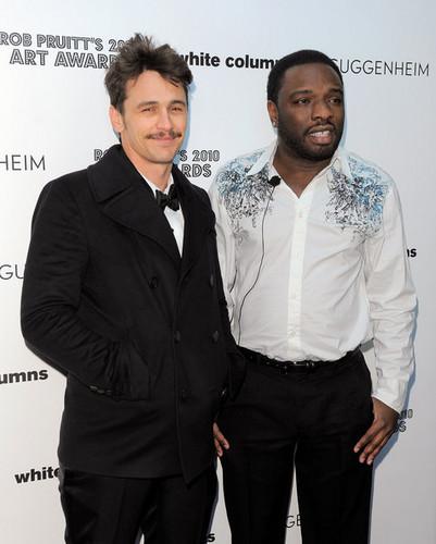 James @ Rob Pruitt's 2010 Art Awards