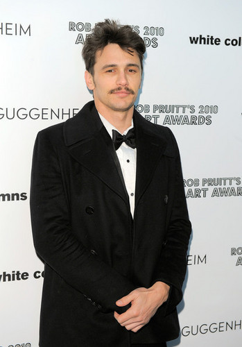 James @ Rob Pruitt's 2010 Art Awards